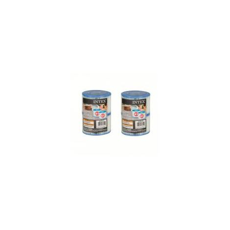 (2 lot) de 2 filtres cartouche pour SPA gonflable INTEX