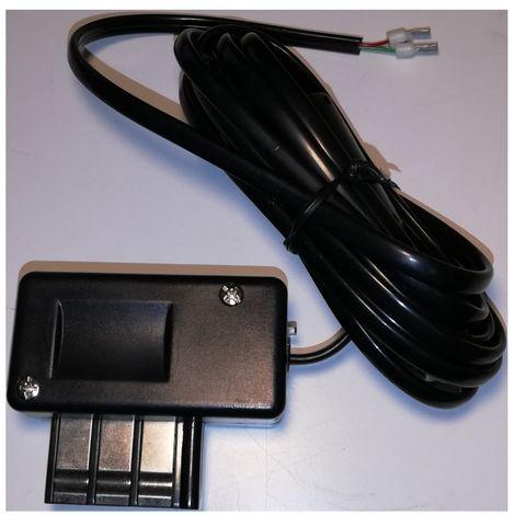 2 M negro del enchufe del cable + 2 hijo PTT Gigogne