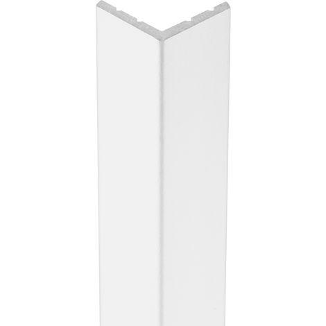 2 Meter | Außenecke | Ecopolimer | stoßfest | Cosca | 18x18mm | CA2