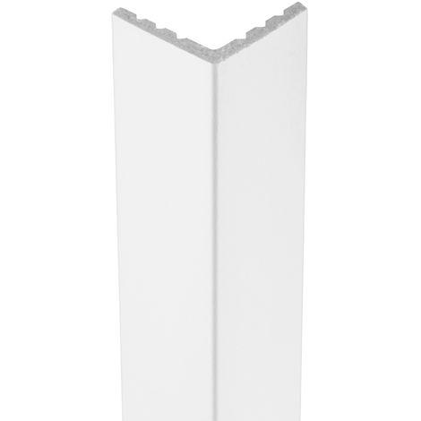 2 Meter | Außenecke | Ecopolimer | stoßfest | Cosca | 25x25mm | CA1