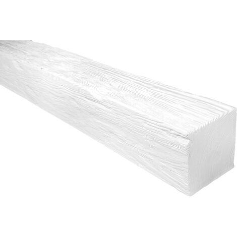 2 Meter | Balken | Decke | Holzimitat | PU | 120x120mm | Deco Wood | ED106