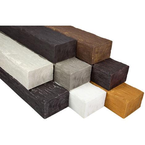 2 Meter | Balken | Decke | Holzimitat | PU | 200x130mm | Cosca | DB200