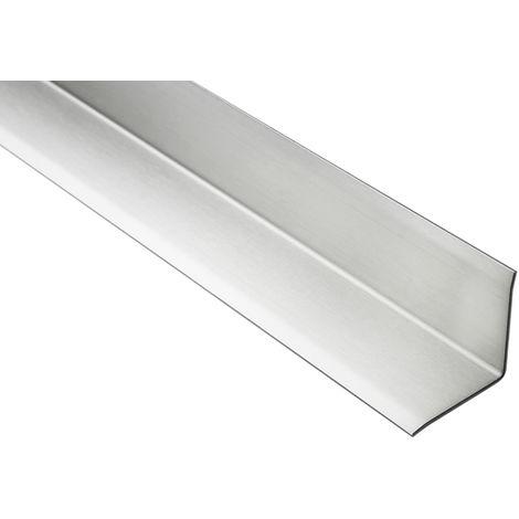 2 Meter | Eckschutzprofil L-Form | Innenecke | Edelstahl | diverse Größen | HEX240