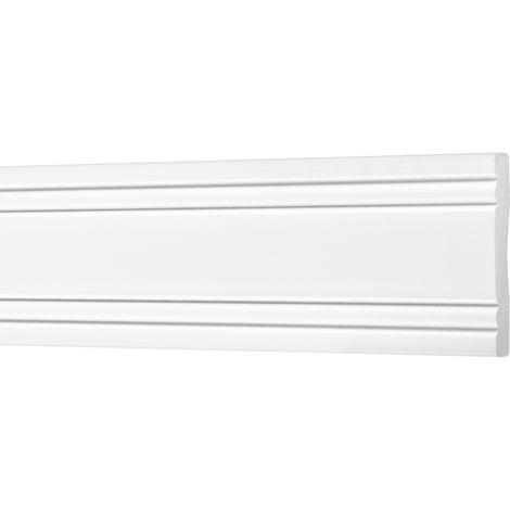 2 Meter | Flachleisten | Ecopolimer | stoßfest | Cosca | 6x40mm | CM15