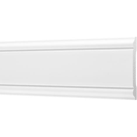 2 Meter | Flachleisten | Ecopolimer | stoßfest | Cosca | 8x60mm | CM8