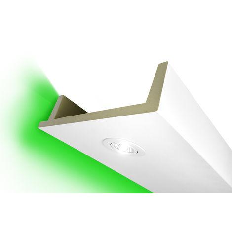 2 Meter | LED Spots Kastenprofil | PU | stoßfest | Hexim | 80x300mm | LED-12