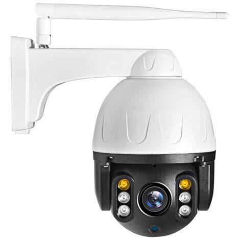 2 millions de caméras dôme extérieures pour maison intelligente WIFI haute définition vision nocturne caméra de surveillance extérieure étanche en couleur
