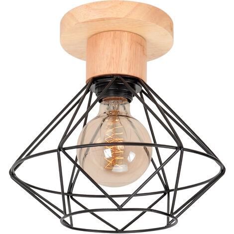 2 Pack Cage Shape Ceiling Light Vintage Creative Pendant Light Adjustable Single Light Industrial Drop light for Living Room Dining Room Bar Balcony Rose Gold E27