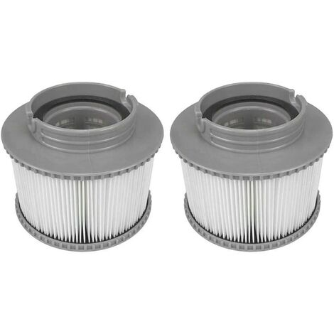 """main image of """"2 Pack Pool Filter Cartridges, Replacement Inflatable Spa Pool Cleaning Filter Accessories, Easy to Install Antimicrobial Spa Filter Cartridge"""""""