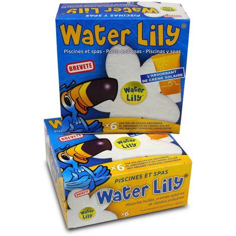 2 Pack. Water Lily zur Reinhaltung der Wasseroberfläche (= 12 Stk.)