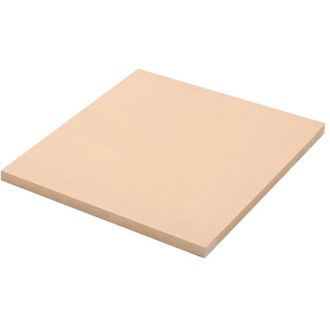 2 pcs MDF Sheets Square 60x60 cm 25 mm - Beige