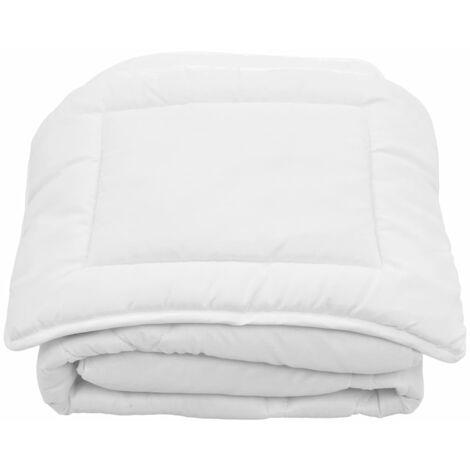 2 Piece Kids Winter Duvet Set White 100x135 cm/40x60 cm