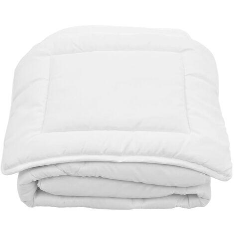 2 Piece Kids Winter Duvet Set White 120x150 cm/40x60 cm