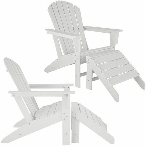 2-Piece Set Janis Garden Chair with Joplin Footrest