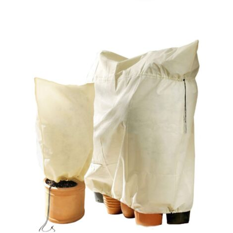 2 Pieces (180 * 120cm + 80 * 60cm) Gel Protection Cover Winter Plant Protection Cover Winter Protection Cover Protective Cover Non Woven Protective Case