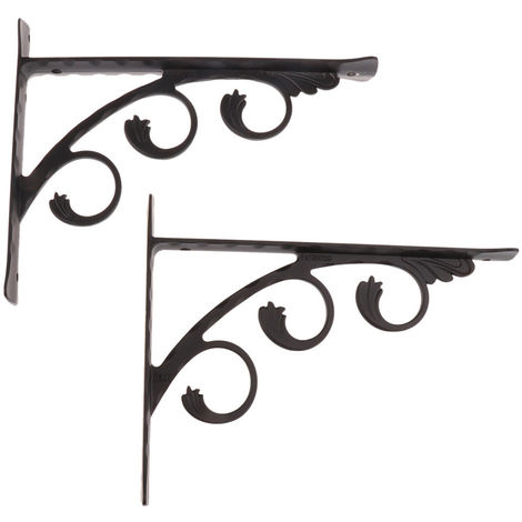 2 Pieces Aluminum Wall Shelf Support L Right Angle Shape Support For Basic Furniture Trim Material