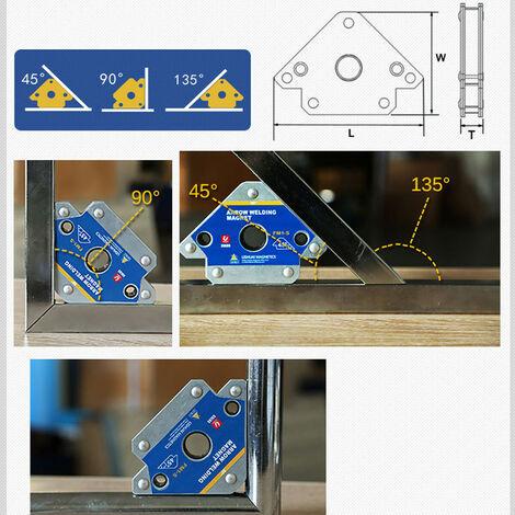 2 pièces dispositif de soudage de Position magnétique de fixateur de positionneur de soudage (FM1 / XS (2 pièces))