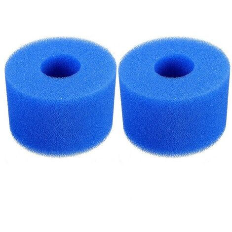 2 Pieces Filter Sponge Type S1, Foam Filter Cartridge, Pool Filter Foam, Reusable and Washable, Foam Filter for Spa, Pool, Jacuzzi