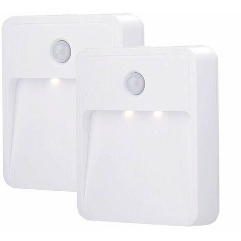2 pieces of pilot light LED body induction light kitchen cabinet corridor hallway halls bedside light hot light