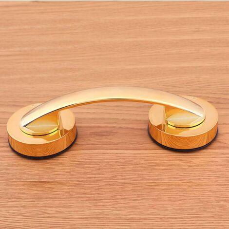 """main image of """"2 Pieces Shower Handle Ventouse Plastic Bath Handle Golden Bathroom Accessories"""""""