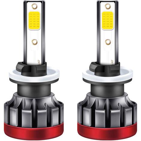 2 piezas de la niebla del LED DRL 880/881 Bombillas LED amarillo 3000K 3000 lumenes 30W de alta potencia de luz de niebla de los bulbos de Coches Camiones