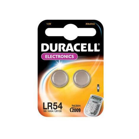 2 Piles Electronics LR54 - DURACELL
