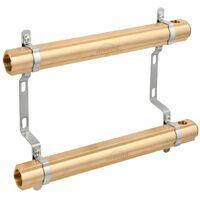 2-Ports Brass Heating Distributor Building Circuit Manifold System