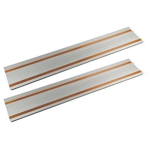 2 rails 700 mm et d'embouts d'assemblage pour scie plongeante Triton TTS1400 - 270327 - Triton - -