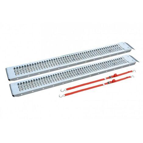2 Rampes De Chargement Longueur 1.5m - platine de fixation