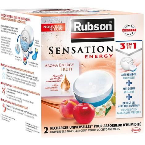 2 Recharges absorbeur sensation rubson - plusieurs modèles disponibles