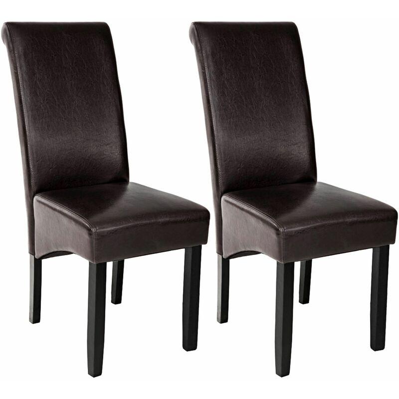 2 sedie da sala da pranzo con seduta ergonomica - sedie moderne, sedie sala  da pranzo, sedie da pranzo