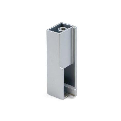 2 soportes laterlaes para barra armario luxe - talla