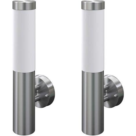 2 Stainless Steel Waterproof Wall Garen Lights