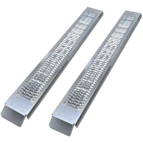 2 Steel Loading Ramps 450 kg