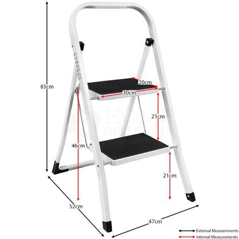 2 Step Ladder With Anti-Slip Mat