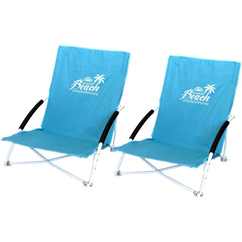 BasicNature Travelchair Holiday schwarz Campingstuhl Klappstuhl Regiestuhl