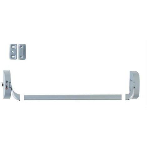 2 Supports IDEA barre + 1 mécanisme H/B + 1 gache et cales d'épaisseur ISEO - Blanc - Non coupe feu - 9414000405