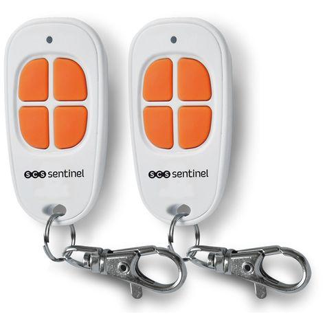 2 télécommandes 4 canaux, ControlGate 2 orange, ControlGate Orange