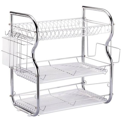 2 Tier Drying Rack Shelves