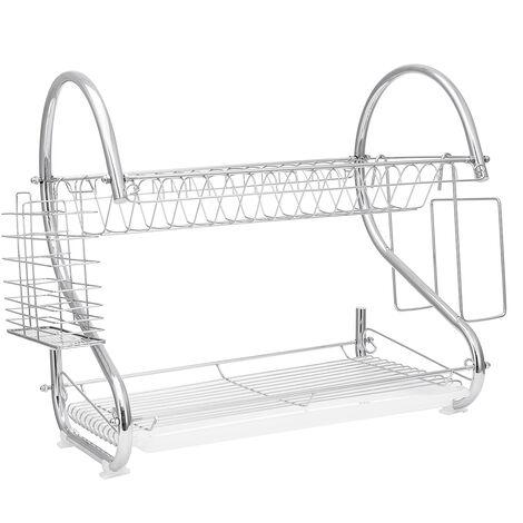 2 tier kitchen rack