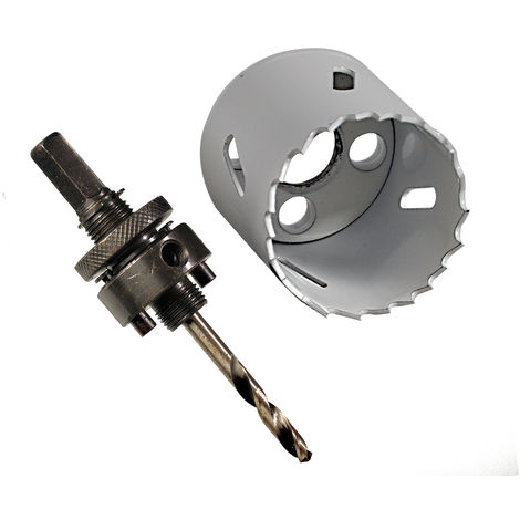 Bi-Metall Lochsäge 127 mm HSS-Bohrkrone Kernbohrkrone Trockenbau Dosenbohrer