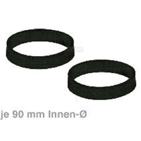 2 Treibriemen (Flachriemen) für 907481-02 Dyson-Staubsauger mit 90 mm Ø
