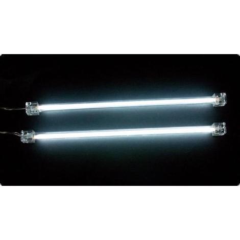 2 Tubes neon blancs cathode froide 30cm Generique