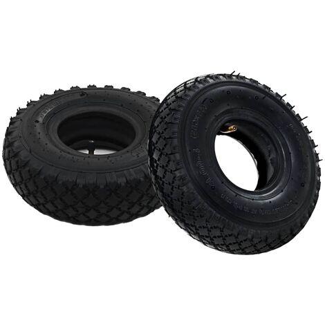 2 Tyres 2 Inner Tubes 3.00-4 260x85 for Sack Truck Wheel Rubber