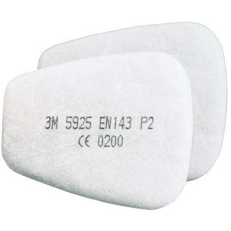 2 UD Filtre Particules 3M 5925 P2