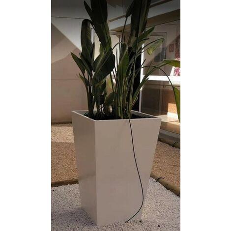 2 unités Jardinière carré lisse ARYA 35x60cm. Pour un usage intérior et extérieur. Diverses couleurs disponibles.