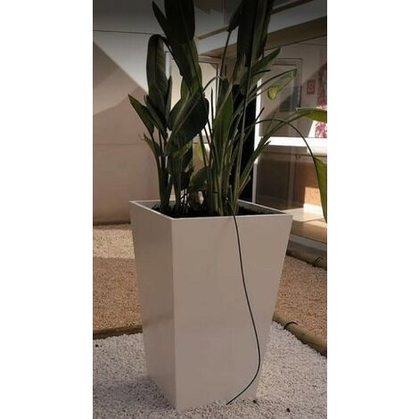 2 unités Jardinière carré lisse ARYA 60x105cm. Pour un usage intérior et extérieur. Diverses couleurs disponibles.
