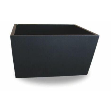 2 unités Jardinière carré lisse BRAN 60x20x20cm. Pour un usage intérior et extérieur. Diverses couleurs disponibles.