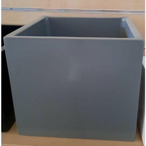 2 unités Jardinière carré lisse haut TALISA 60X30X71cm. Pour un usage intérior et extérieur. Diverses couleurs disponibles.