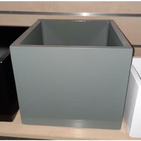 2 unités Jardinière carré lisse Sandor 50x50x50cm. Pour un usage intérieur et extérieur. Diverses couleurs disponibles.
